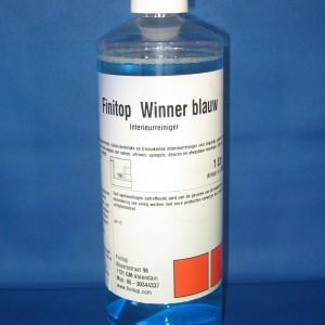 winner blauw